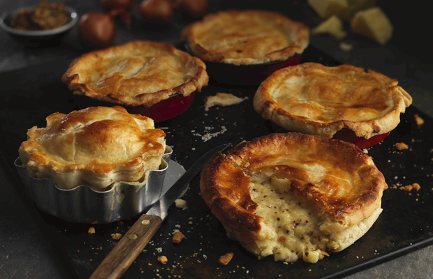 cheese and onion pies