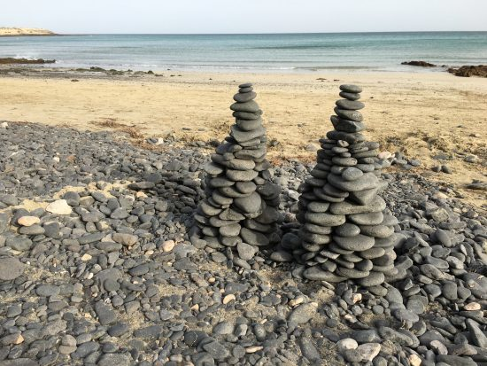 These towers of stones speak of patience.