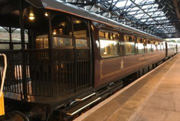 All aboard the Royal Scotsman.
