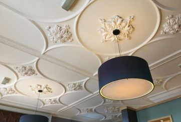 This ornate ceiling caught my eye.