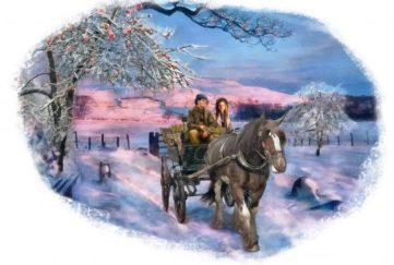 Christmas wassailing in Blessing The Apple Trees