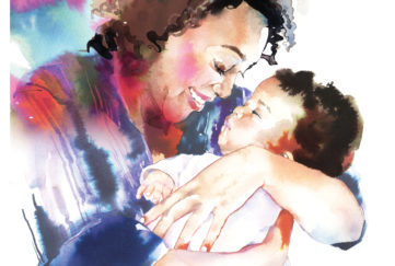 A picture of mother love