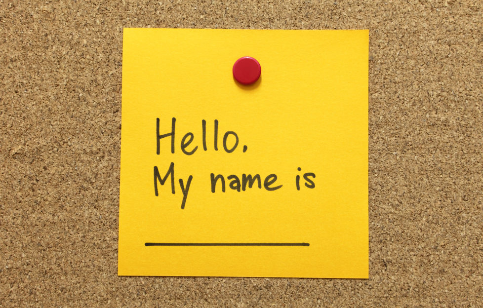 Naming Your Characters