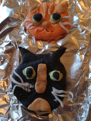 cats cake and celebrations